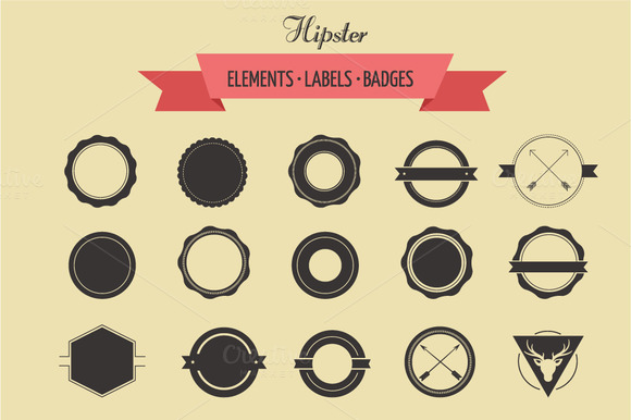 Badges And Labels Logo Template