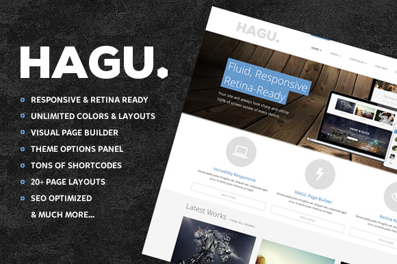 Hagu Multipurpose Wordpress Theme