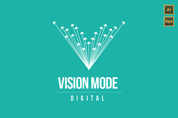 Vision Mode Digital Logo