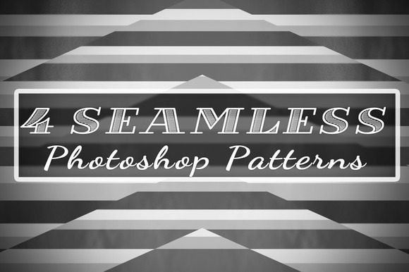 4 Seamless Line Patterns