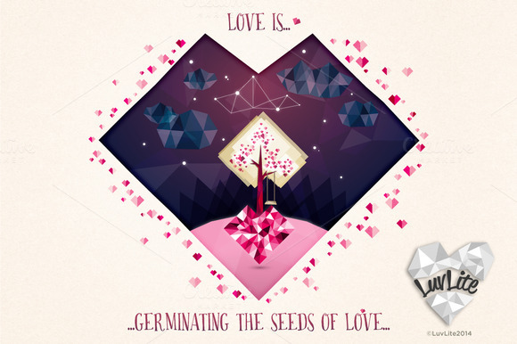Seeds Of Love FREE Bookmark