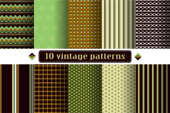 Set Of Pattern Swatches