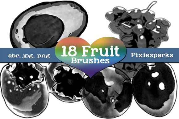 Fruit Brushes Vol 2