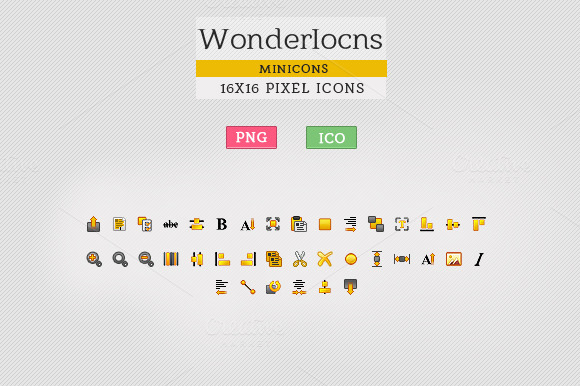 WonderIcons User Interface Iocns