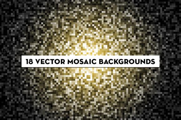 Vector Mosaic Patterns