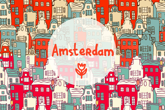 Vector Amsterdam Set