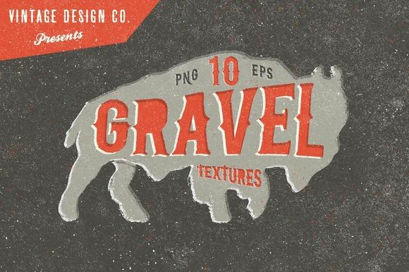 Gravel Vintage Textures
