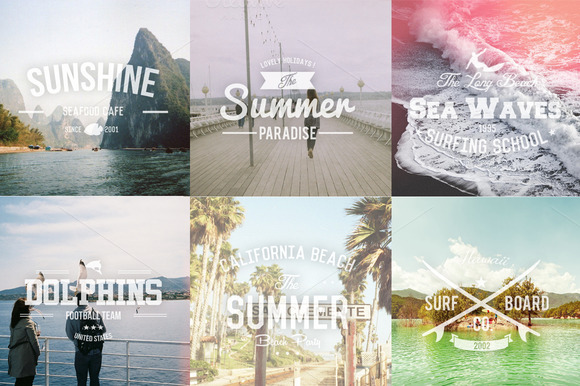 6 Summer Insignias Vol.1