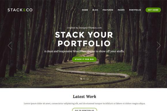 Stack WordPress Portfolio Theme
