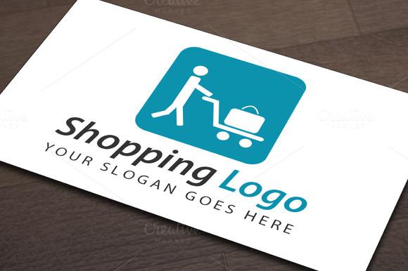 Exclusive Shopping Logo Template