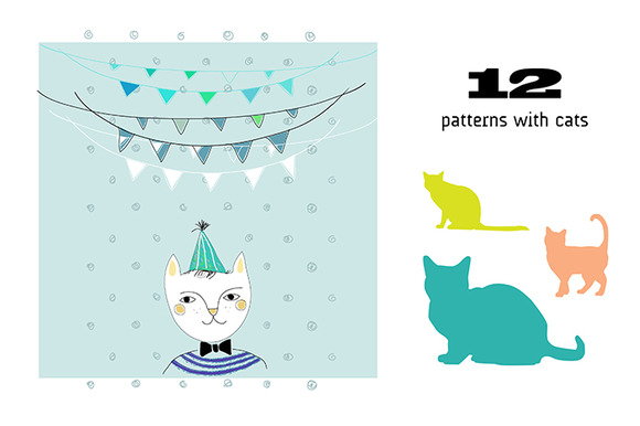 Cats Vector Clipart