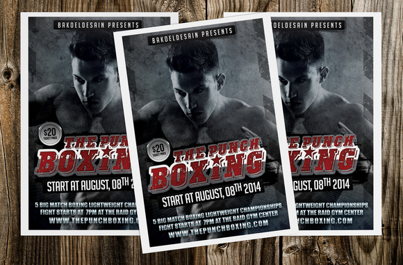 The Punch Boxing Flyer