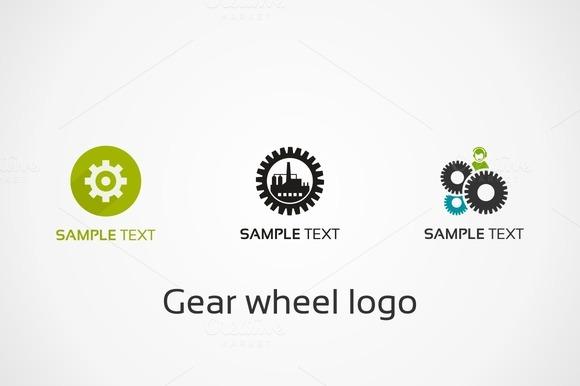 Gear Wheel Logo