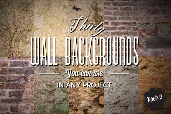 30 Wall Backgrounds Pack#2