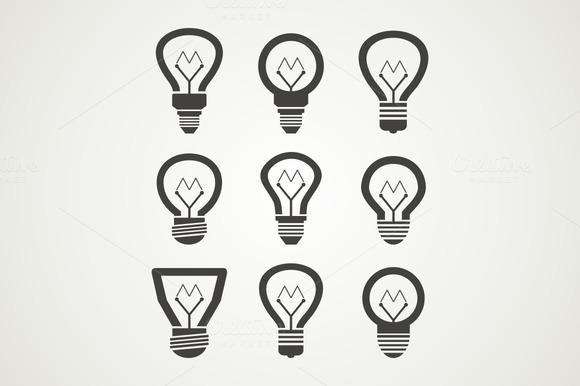 Bulb An Icon