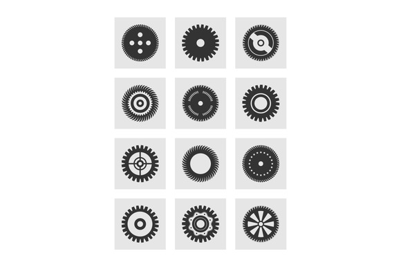 Gear Wheel An Icon