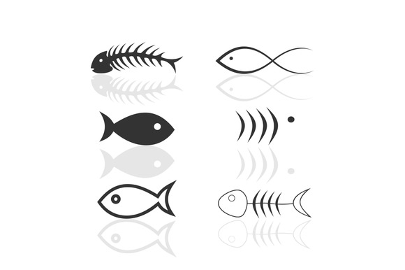 Icon Of Fish