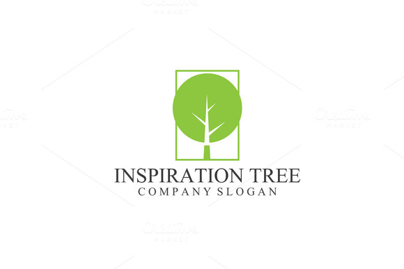 Inspiration Tree Green Logo