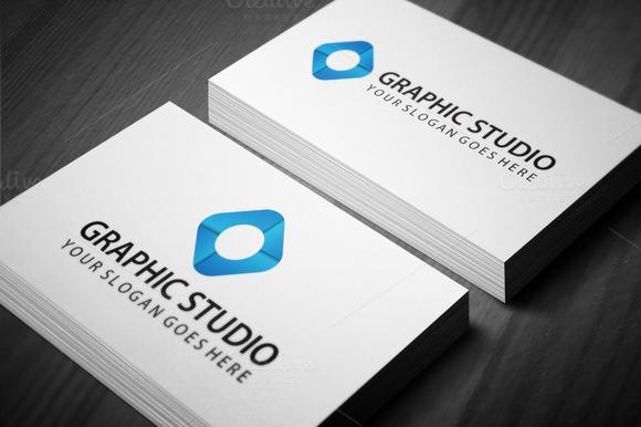 Graphic Studio Logo Templae