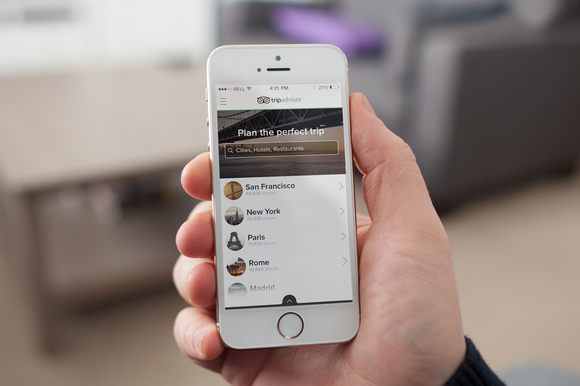 Trip Advisor IOS App Redesign