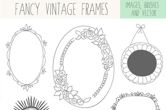 Fancy Vintage Frames