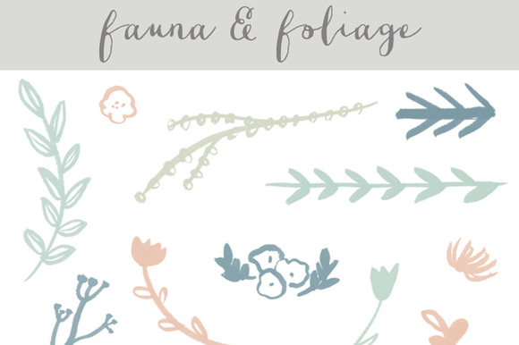 Foliage Clip Art Photoshop Brushes