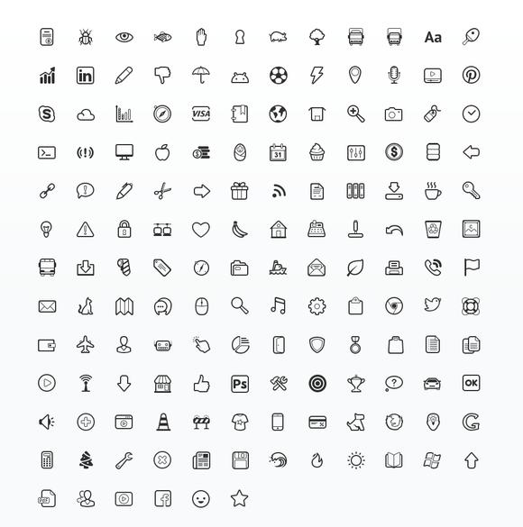 Simplicity Icon Set