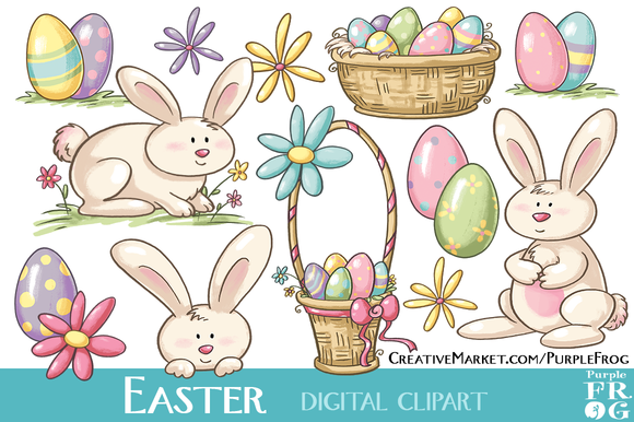 EASTER Digital Clipart