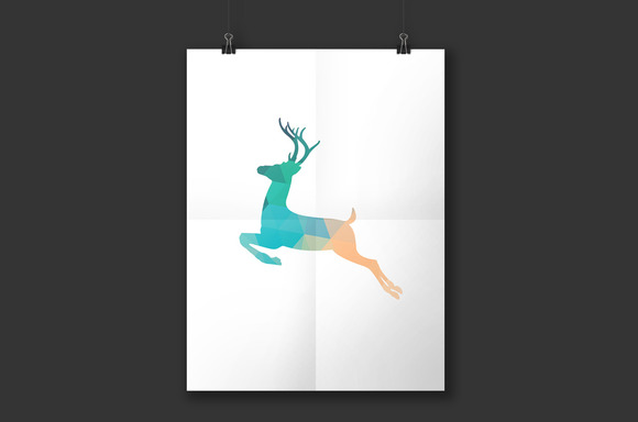 Deer Printable Poster Art