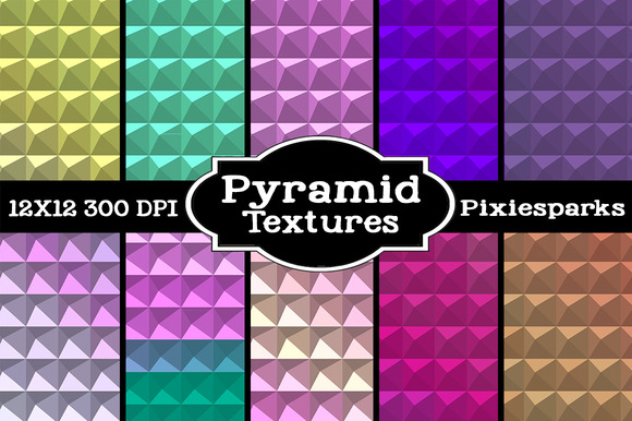 Pyramid Geometric Texture Vol 2
