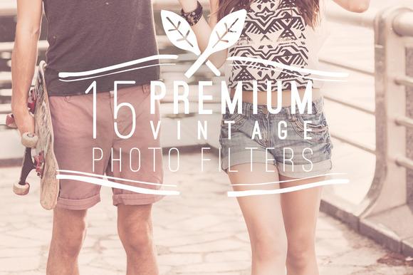 15 Premium Vintage Photo Filters