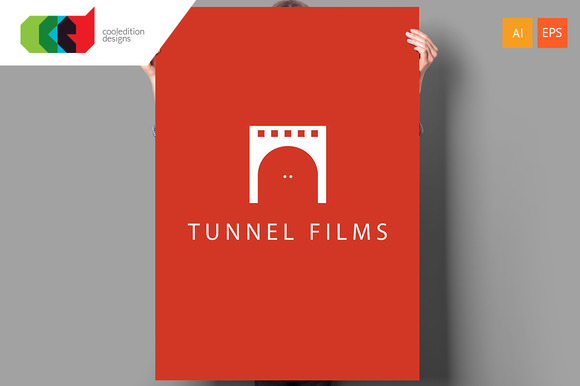 Tunnel Films Logo Template