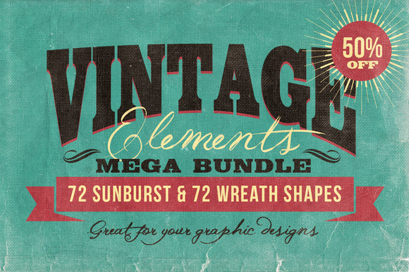 Vintage Elements Bundle
