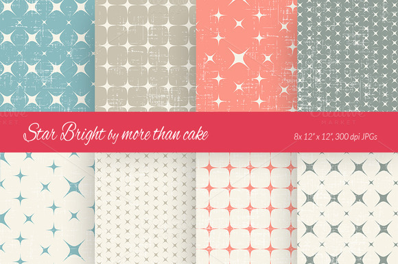 Star Bright Digital Paper 2