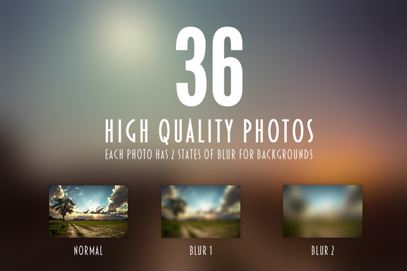 36 High Quality Photos With Blur