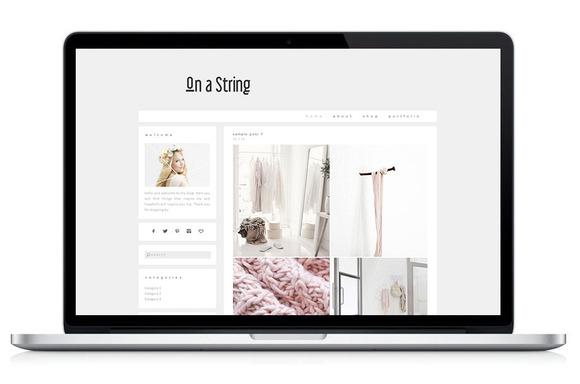 Wordpress Theme On A String