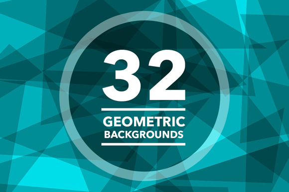 32 Geometric Backgrounds