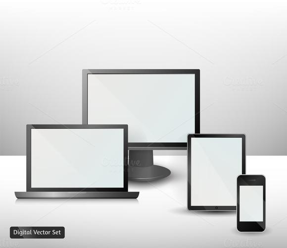 Digital Vector Set