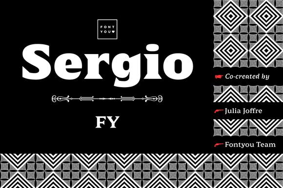 Sergio FY Bold