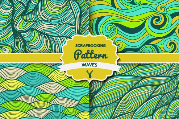 Waves Pattern Set 4