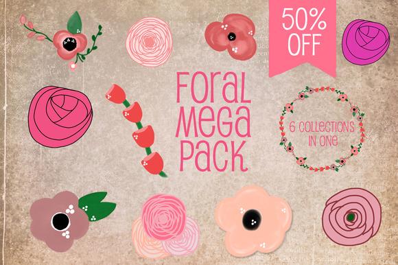Floral Mega Pack