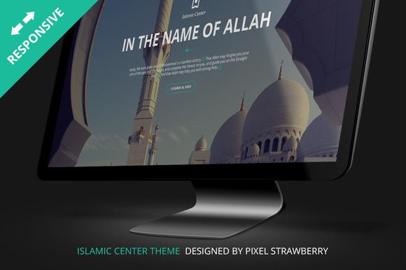 Islamic Center PSD Template