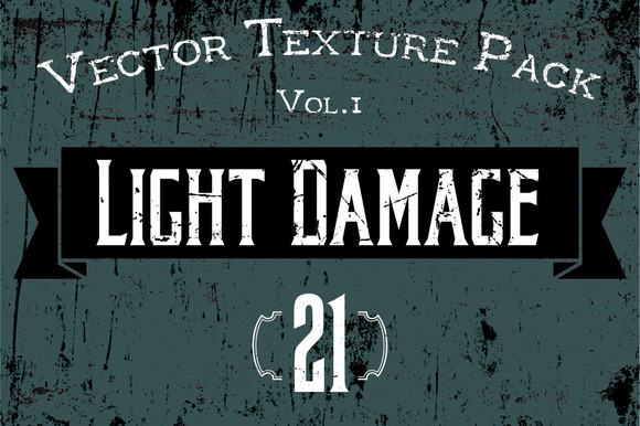21 Vector Textures Light Damage