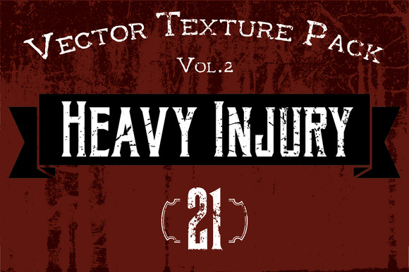 21 Vector Textures Heavy Injury