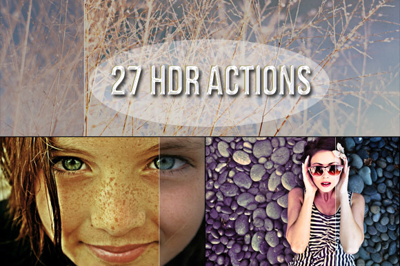 27 HDR PS Actions