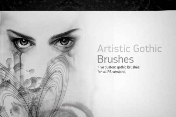 Artistic Gothic Brushes
