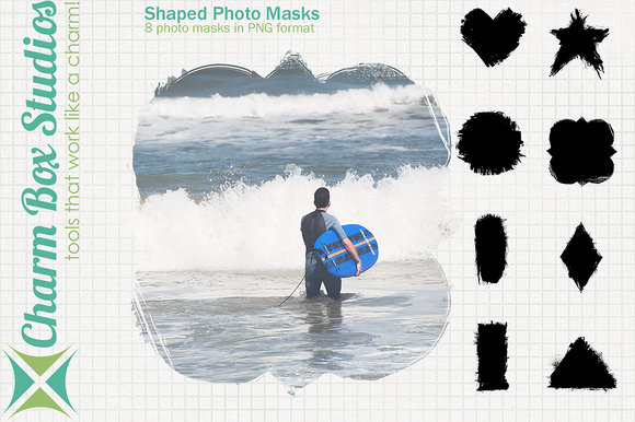 Shaped Photo Masks