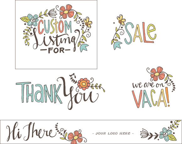 Etsy Store Graphics