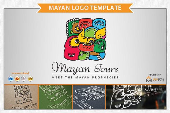 Mayan Logo Template