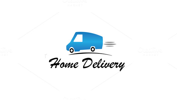 Quick Delivery Logo Template
